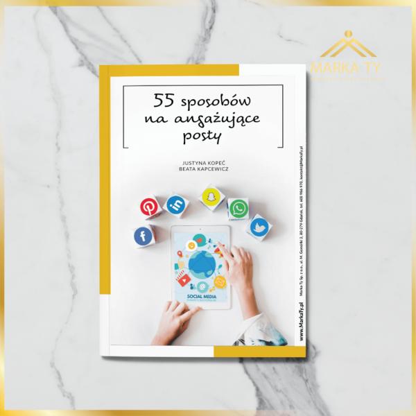 ebook 55 sposobów na angażujące posty Justyna Kopeć Beata Kapcewicz